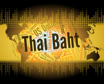 Thai Baht Shows Forex Trading And Banknote