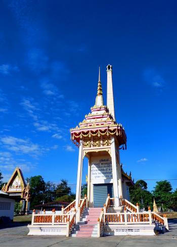 Thai  Buddhist temple crematorium