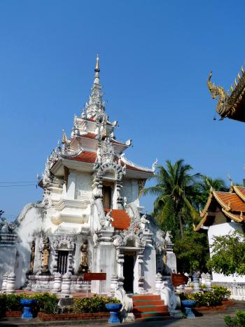 Thai Buddhist Temple Pavilion