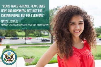 The Kennedy-Lugar Youth Exchange and Study (YES) program students share their thoughts on peace building