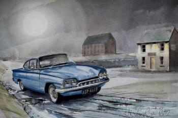 The Moon and a Ford Consul Capri