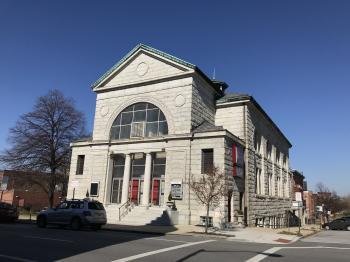 The New Metropolitan Baptist Church, 1501 McCulloh Street, Baltimore, MD 21217