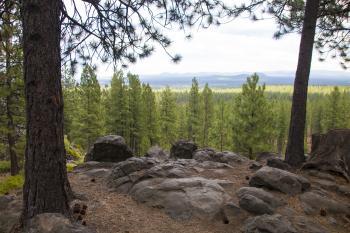The Newberry-Cascade Battleground, Oregon