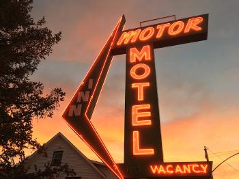 There is Room at the Motor Motel