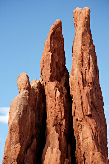 Three Graces at Garden of the Gods