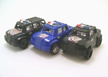 Three little cars
