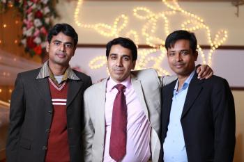 Three Men in Formal Suits