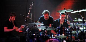 Three Percussionists 2
