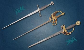 Three Vintage Swords