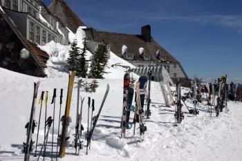 Timberline Lodge, Oregon, Skis