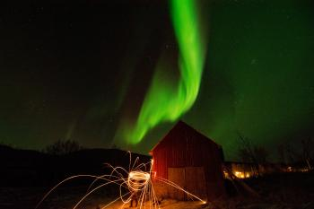 Time Lapse Photo of Aurora Borealis