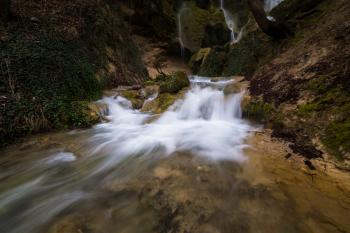 Time Lapse Photo of Stream