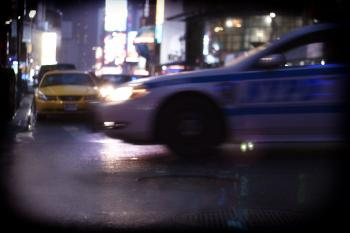 Times Square Rush
