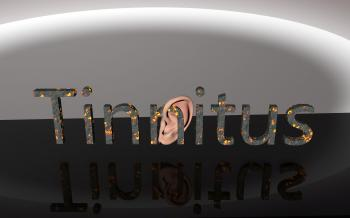 Tinnitus - Ear Pain 3D Text