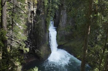 Toketee Waterfalls, Oregon