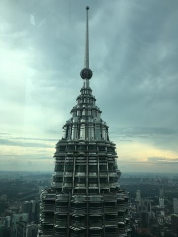 Tower Building Landmark Under Cloudy Sky