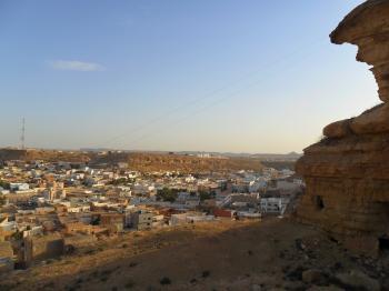 Town near the Cliffs