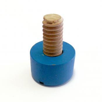 Toy wood screw
