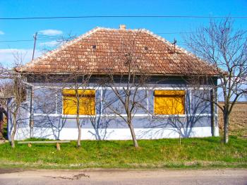 Traditional house from Romania