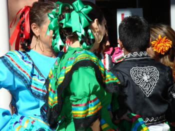 Traditional Mexican Baile Folklorico