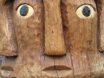 Tribal Wood Carving