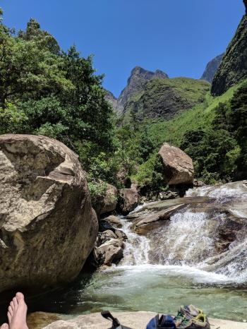 Tugela river rest stop