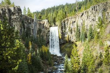 Tumalo Falls, Waterfalls, Oregon