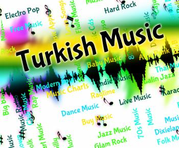 Turkish Music Indicates Central Asian And Arabic