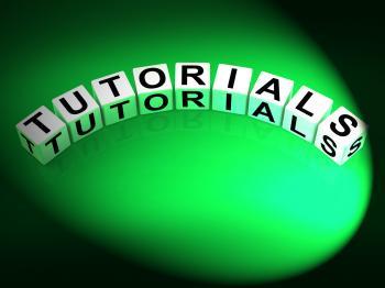 Tutorials Dice Refer to Tutoring Teaching and Training