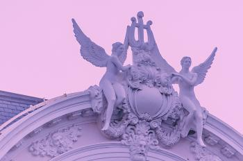 Two Angels Ornate Arch