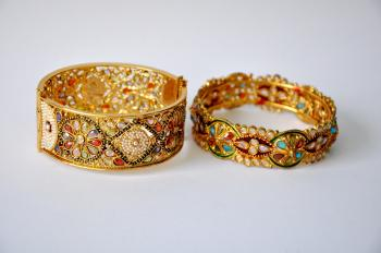 Two Golden Bangles