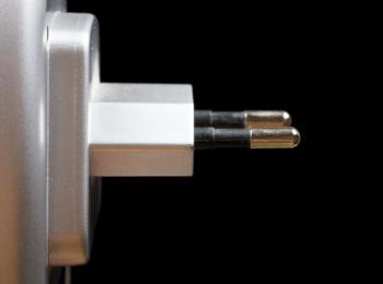 two-pin plug