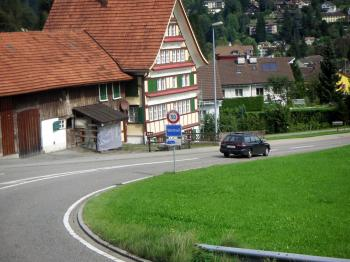 Typical Swiss House