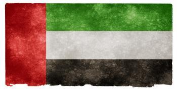 UAE Grunge Flag