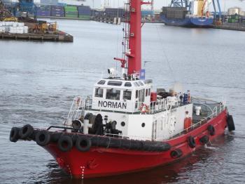 UK Tug boat