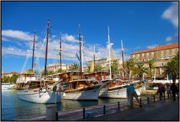 Un an déjà Boats Croatie