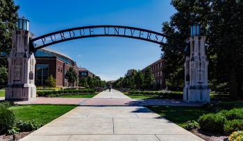 University Entrance Arch