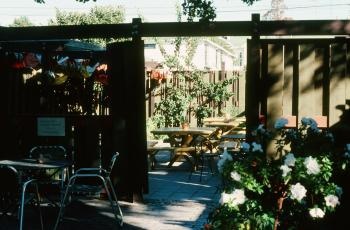 Unknown patio - December 1976