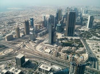 Urban Aerial View