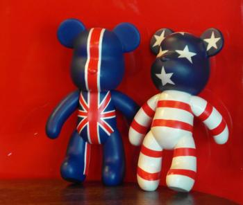 USA UK Teddy Bears