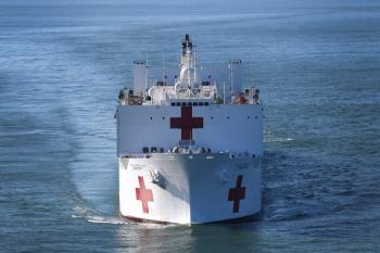 USNS Comfort Medical Vessel