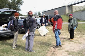 UT Entomology class field trip to Hornsby Bend Bird Observatory