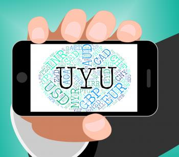 Uyu Currency Indicates Forex Trading And Banknotes