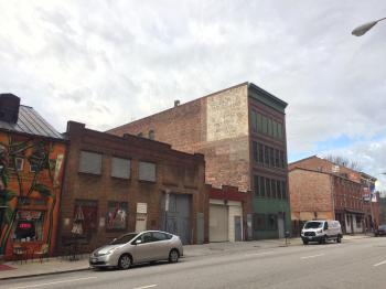 Vacant warehouse/industrial building (1914), 723 W. Pratt Street, Baltimore, MD 21230