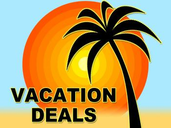 Vacation Deals Shows Getaway Discount And Sale