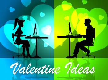 Valentine Ideas Shows Decision Girlfriend And Celebration
