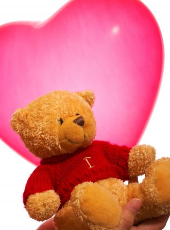 Valentine Teddy Bear Gift Or Present