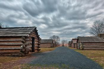 Valley Forge Cabin Trail - HDR
