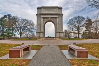 Valley Forge National Memorial Arch - HDR