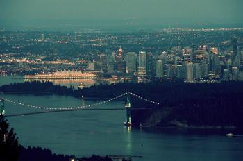 Vancouver Skyline Closeup